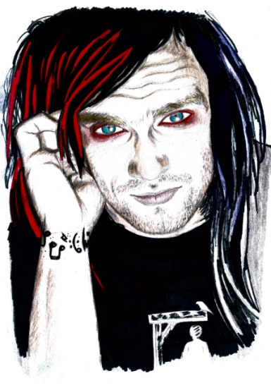 Bert McCracken by GarryWay